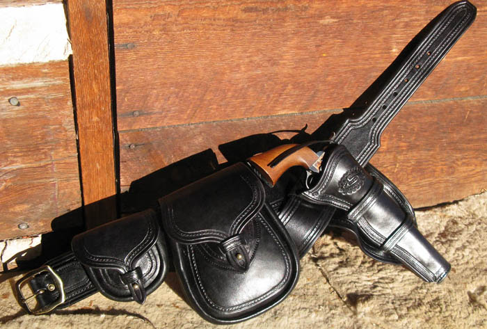 Cap and Ball Holsters From Shooting Star Saddlery